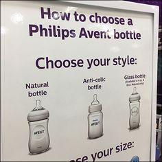 How To Choose A Baby Bottle by Avent – Fixtures Close Up