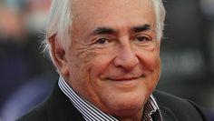 France. L'ex-directeur du Fonds monétaire international, Dominique Strauss-Kahn, au festival du film américain à Deauville (Calvados), le 13 septembre 2014. | CHARLY TRIBALLEAU / AFP