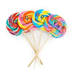 Dylan's Candy Bar Whirly Pops - 4 Pack