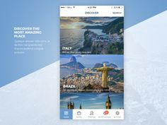 Travel UI by zayeem