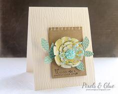 Handmade Wedding Card by @pixnglue