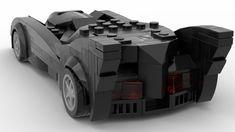 TNBA Batmobile (V2 - 8 Studswide Speed Champion Car) | Flickr
