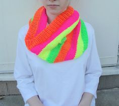 Neon Tube Cowl Scarf Kids Girls Tweens Teens Women by Girlpower, $40.00