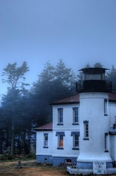 Admiralty Head LIghthouse in the Fog, via Flickr.