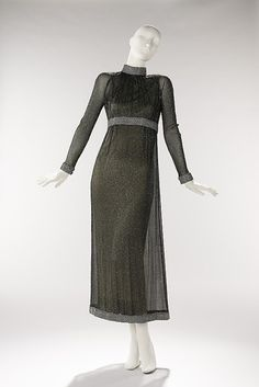 Vestido de noche Geoffrey Beene, 1967 El Museo de Arte Metropolitano