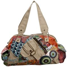Desigual Women's New Tokyo Patch Everyday Handbag: Amazon.co.uk: Shoes & Accessories