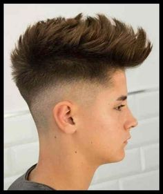 Top 11 Most Wanted Boys and Men Hairstyles 2019 to Look Cool and . Trending Hairstyles For Men, Teen Boy Hairstyles, Mens Hairstyles Fade, Hairstyles Haircuts, Haircuts For Men, Cool Hairstyles For Boys, Gents Hair Style, Hair Style Boy, Style Hairstyle