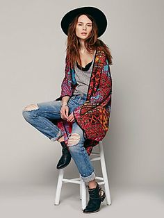 One time I actually wore something like this and my dad called me Boy George