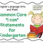 These posters are the perfect way to display the Common Core standards being addressed in your room. Each standard is rewritten in a more kid frien...
