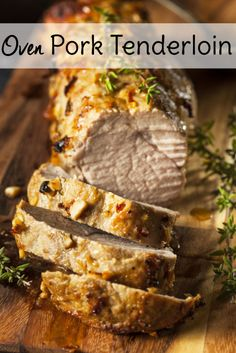 Moist and delicious oven roasted pork tenderloin recipe. Make gravy from the pan drippings for a real treat!