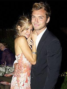 Sienna Miller et Jude Law