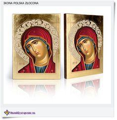polska złocona ikona