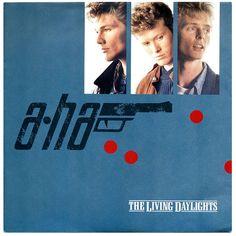 The Living Daylights b/w The Living Daylights (Instrumental), a-ha, Warner Bros. Records/Germany (1987)      From The Motion Picture THE LIVING DAYLIGHTS