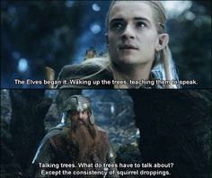 Gimli always so funny