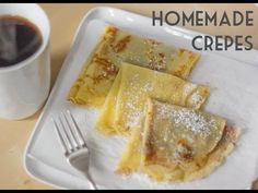 How to Make Crepes | Easy Crepes Recipe | Total Noms