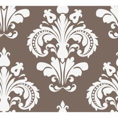 Devine Color Chantilly Wallpaper - Buck--could be good for an accent wall, maybe behind the fireplace.
