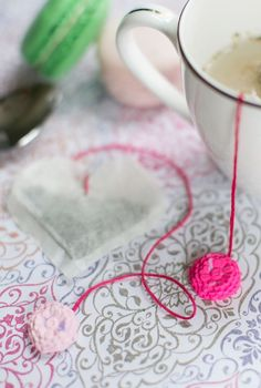 DIY Heart Tea Bags With Clay Charms - Tuts+ Crafts & DIY Tutorial