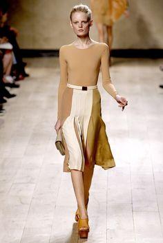 Céline Spring 2010 Ready-to-Wear Fashion Show - Hanne Gaby Odiele (IMG)