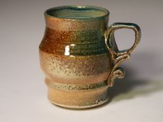 Love my coffee.   Stoneware glaze glazed high fire cone 10 by PThompsonCeramics, $20.00 #gifts #coffee #holidaygifts