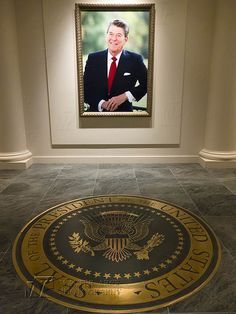 Ronald Reagan Library | Presidential Library 2014.    Wouldn't it be great to have another President Reagan.
