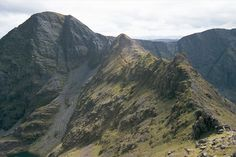 Carrantouhill.  Devil's Ladder is well named!