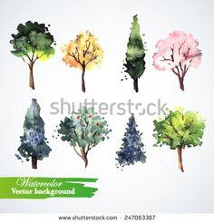 숲 스톡 일러스트레이션 및 만화 | Shutterstock