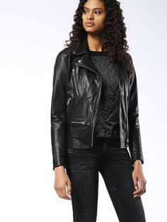 Diesel L MONET Leather Jackets: explore this product & the exclusive collection. Shop now on the official store!
