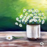 Paintings – 2 Hour on Creatively Uncorked Beautiful Paintings Of Nature, Nature Paintings, Watercolor Paintings, Watercolor Ideas, Easy Canvas Painting, Beginner Painting, Blue Butterfly, Paint Party, Learn To Paint