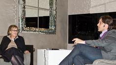 """""""Dialoghi"""": Cini Boeri conversa con Giorgio Tartaro."""