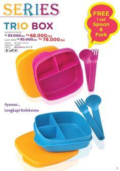 TRIO BOX Series Promo - Booklet Maret 2018 #tulipware #twintulipware