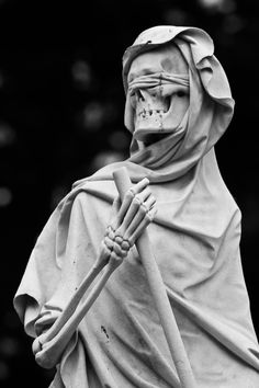 sixpenceee: The grim reaper statue located at the English Cemetery in Florence, Italy. Reaper Statue, Grim Reaper, Memento Mori, Skull Reference, Cemetery Art, Danse Macabre, Creepy Art, Angel Of Death, The Grim
