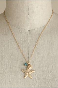 Starfish Charm Necklace   shopgofish.com