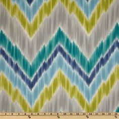 Cool chevron ikat. Great for upholstering wingback chair