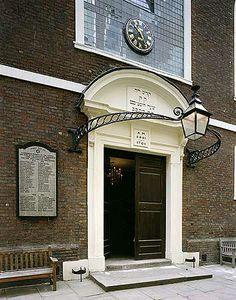 Bevis Marks Synagogue, Bevis Marks, City of London