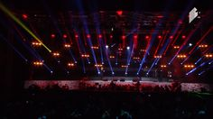 Stage design Light art  BY B.B. New Year show 2017