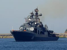 russian navy | The Russian Navy's Udaloy I class anti-submarine destroyer ...