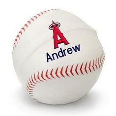 Los angeles angeles and angel on pinterest la angels of anaheim personalized plush baseball la angels of anaheim at designs by chad negle Images