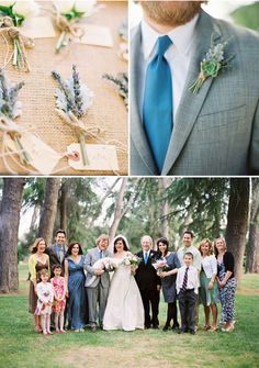 If there's such a thing as manly boutonnieres, this might be it.