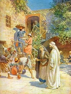 The wedding at Cana of Galilee, by William Brassey Hole (1906)