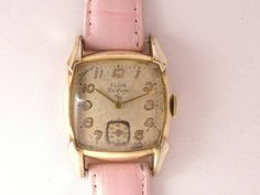 Elgin アンティークELGINdeluxeスモセコ付きレア ? 時計 Watch Antique ¥15000yen 〆05月21日