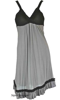 KG Stormy Dress In Gray And Black #gorgeous #beyourself #inspiration #unique #boutique #vintage #lace #hi #womenclothing  #love #pretty #girl #selfie #fashion #beyourself #online
