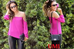 http://www.umidress.com/view/2985479/Fashion%20Personality%20off%20the%20Shoulder%20Gauze%20Splicing%20Loose%20T-shirt%20Magenta%20.htm