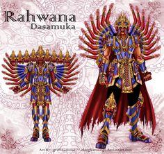 Rahwana by elangkarosingo on DeviantArt