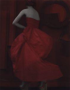 """La robe rouge"" | Sarah Moon"