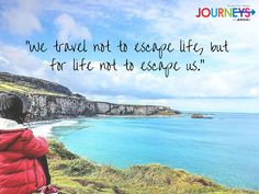 To travel is to take a journey into yourself. #JukasoJourney #TravelQuote