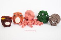 Mystery box - Crochet amigurumi toy, cute crochet plush, crochet shark bear dog monster, sea creature crochet plush toy, crochet animals by CuteLambKnitting on Etsy