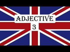 Invata engleza   VOCABULAR   Adjective 3 - YouTube Chicago Cubs Logo, Team Logo, Letters, Books, Youtube, Exercises, English, Libros, Book