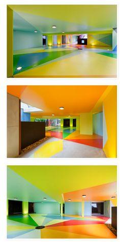 pisos de colores