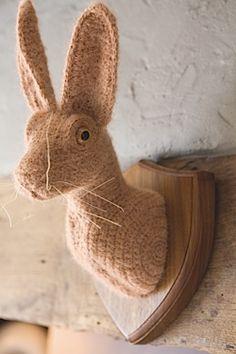 Shauna Richardson's 'crochetdermy' sculptures