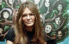 """Gloria Steinem"""" Steinem was a columnist for New York magazine and a founder of Ms. magazine."""